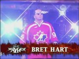 "WCW World Heavywieght Title Tournament Semifinal Match Bret ""The Hitman"" Hart vs Sting 21-11-99"