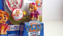 Paw Patrol Skye Action Pack Pup and Badge Nickelodeon - Unboxing Demo Review