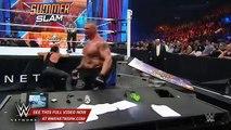 The Undertaker vs. Brock Lesnar  SummerSlam 2015 WWE Network