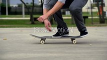 Flatground 720 Flip (Slow Motion)