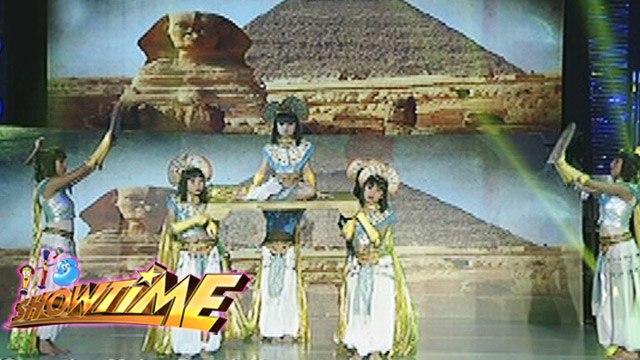 It's Showtime Halo Halloween: Egyptiana's Egyptian-inspired Performance