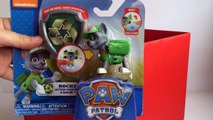 Paw Patrol Rocky Action Pack Pup and Badge Nickelodeon - Unboxing Demo Review