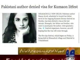 Pakistani Author Kinza Jawed denied Indian Visa without Reason