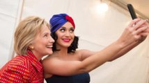Katy Perry Takes Over Hillary Clintons Instagram