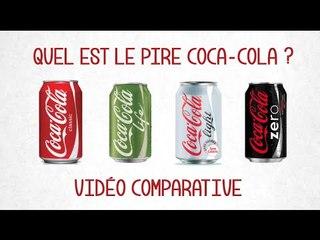Coca-Cola, lequel des 4 choisir ? Classic, Light, Zero ou Life