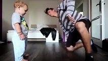 funny baby dance (battle break dance)