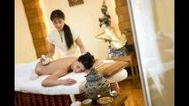 Massage. Full Body Relaxing Oil Massage