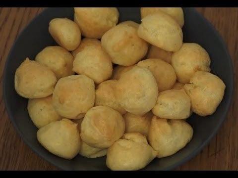 Recette de gougères au fromage (Recette Cuisine Companion Moulinex)