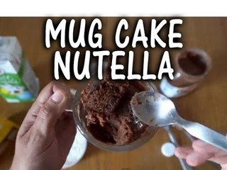DIY : Recette de Mug Cake Nutella - Clickncook.fr
