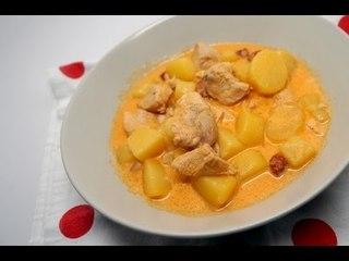 Recette de poulet au chorizo et aux pommes de terre (Recette Cookeo)