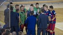Declaracions de Marc Carmona abans del Barça Lassa (futbol sala) - Peñíscola (1/4 de final Copa del Rei 2015/2016)
