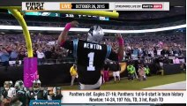 ESPN First Take - How Far Can Cam Newton Take Carolina Panthers