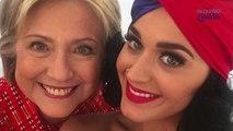 Katy Perry se apoderó del Instagram de Hillary Clinton