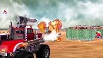 Dinosaurs Cartoons for Children | Monster Truck Vs Dinosaurs | Monster Truck Toys For Chil