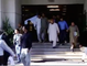 Scared People Are Running From Supreme court of Pakistan Building During earthquake on 26 October 2015