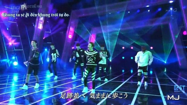 [Vietsub + Kara - 2ST] [151019] Higher - 2PM @ Music Japan