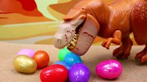 The Good Dinosaur NEW Butch Surprise Eggs Arlo with Vivian and Sam Steal Dinosaur Eggs Toy