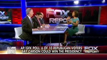 26/10/2015 Poll shows majority of GOP voters think Trump, Carson could win presidency