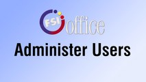 Administer Users | shop.FSIoffice.com