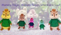 Chipmunks Finger Family Song Alvin Daddy Finger Nursery Rhymes Full animated cartoon engli