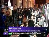Concurs de bărbi şi mustăţi în Bucureşti