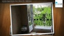 Location Appartement, Paris 14ème (75), 1 460€/mois