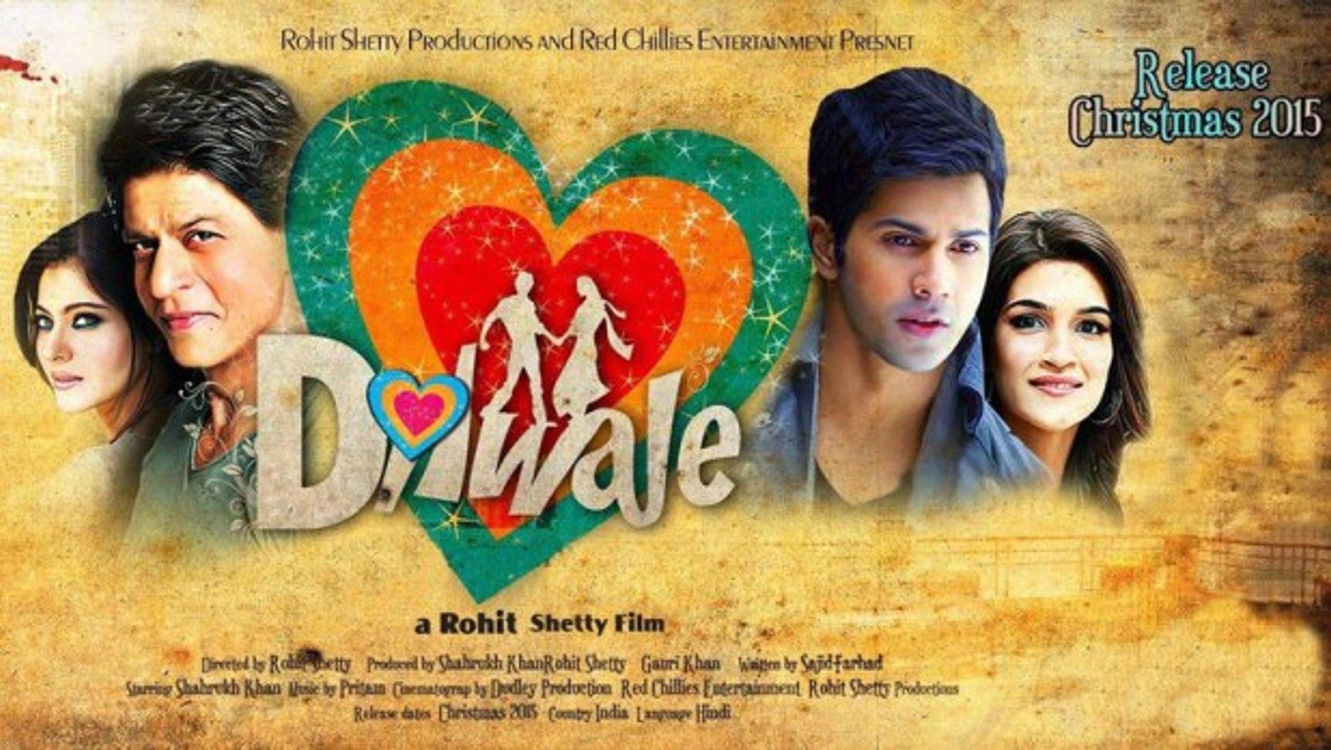 Dilwale (2015) Hindi Movie Celebrate Video HD 720p