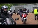moto club renault douai - Fete 2015 balade arrivee Lewarde