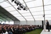 Discours du président lors de la cérémonie d'hommage républicain aux victimes de l'accident de Puisseguin