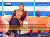 They blur Turkish dramas. Don't they need to blur this morning show host cleavage?
