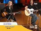 Avril Lavigne he wasn't 2004 live fuse sessions (5)