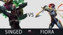 Singed vs Fiora - TSM Dyrus