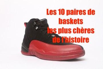 10 paires de baskets les plus chères de l'histoire