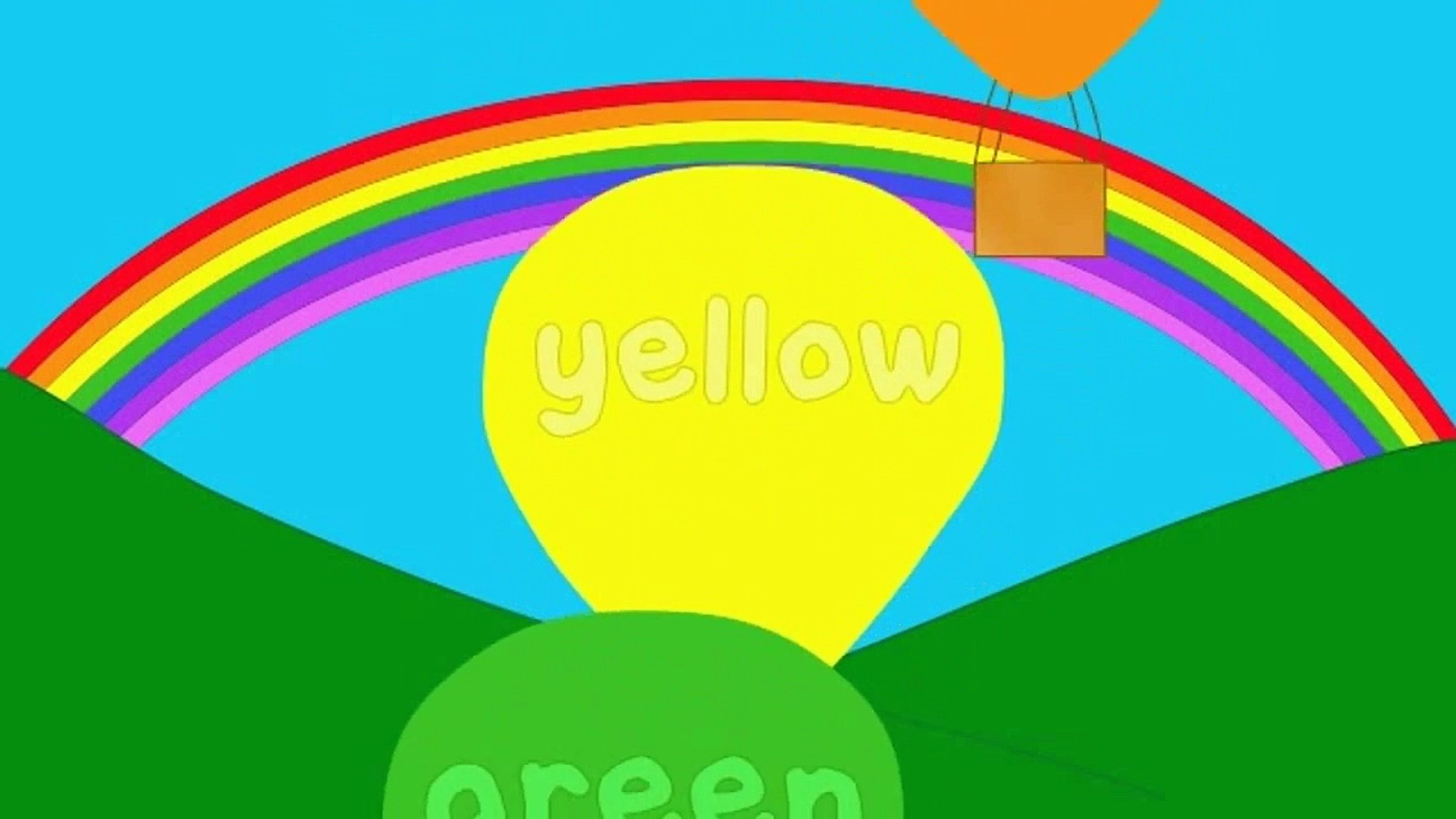 The Rainbow Colors Song Dailymotion Video