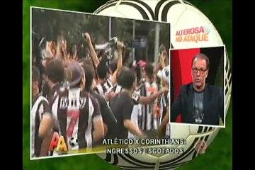 Jaeci Carvalho fala sobre a expectativa do torcedo atleticano para o jogo de domingo contra o Corinthians