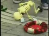 **Squelette danseur**