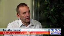Declaraciones del fiscal Franklin Nieves después de acusar a Leopoldo López
