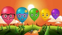 Ballons Finger Family Collection Ballons Finger Family Songs Nursery Rhymes