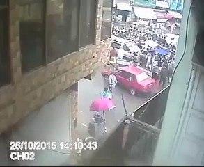 Earthquake Footage Green Chowk Mingora Swat