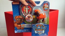 Paw Patrol Zuma Action Pack Pup and Badge Nickelodeon Unboxing Demo Review
