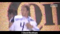 Top 10 Amazing Direct Corner Kick Goals Football history | Ronaldinho, Beckham and More.