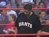Vince Russo fires Hulk Hogan (WCW Bash at the Beach 2000)
