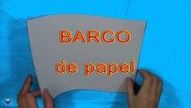 Cómo hacer un barco de papel. Papiroflexia. Origami. Figuras de papel