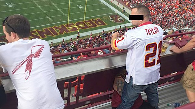Redskins Fans Getting Blow Jobs in the Stands