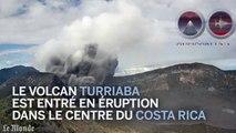 L'éruption d'un volcan au Costa Rica filmée en timelapse
