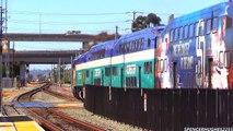 Amtrak Train ride from San Juan Capistrano to San Diego + BNSF & Coaster Trains (August 16