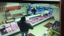 Lille Sud : vidéo d'une agression au couteau dans une boucherie
