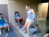 Girl Fails While Playing - Girls And Boys Playing Funny Game