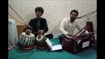 mujhy apny laho ka rang by Qamar khaan and tabla nawaz Haroon khaan