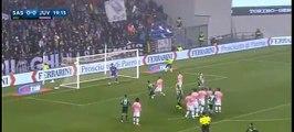 Free Kick Nicola Sansone 1-0      Sassuolo Calcio vs Juventus Turin - 28.10.2015